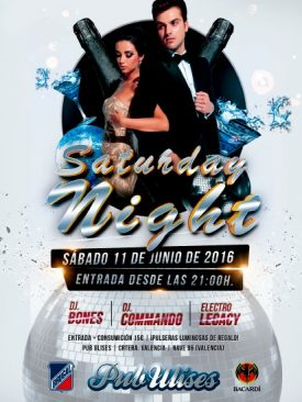 Saturday Night Pub Ulises 2016